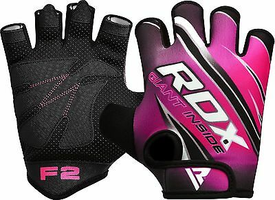 RDX Frauen Fitness Handschuhe Gewichtheben Gym Damen Yoga Body Building Training