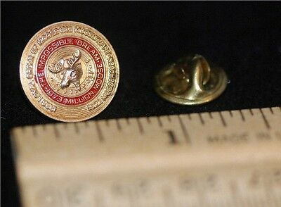 1973 The Impossible Dream Million Moose Lapel Pin/Tie Tac  Vintage NICE