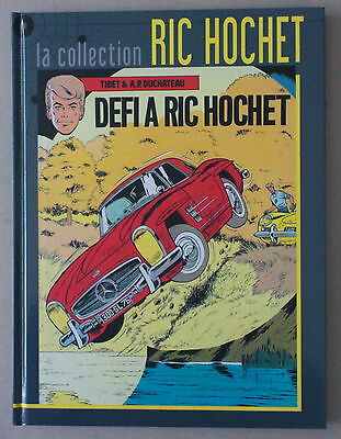 Tibet  ***  La Collection Ric Hochet Tome 3.  Défi À Ric Hochet  ***