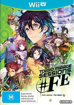 Tokyo Mirage Sessions #FE (Wii U) NEW BUT UNSEALED - IMPORT - QUICK DISPATCH