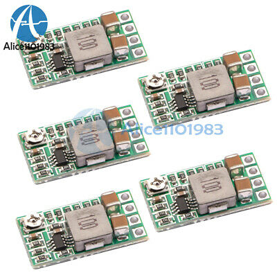 1/2/5PCS Mini DC-DC 12-24V To 5V 3A Step Down Power Module Buck Converter