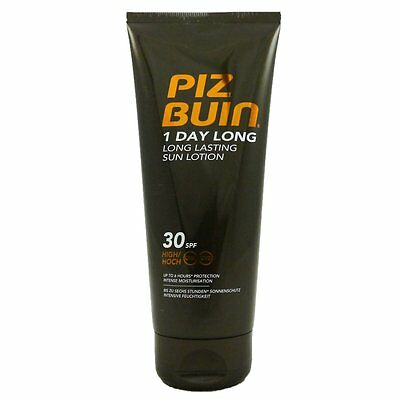 Piz Buin 1 Day Long Lotion SPF 30 hoher Schutz 200 ml Sonnenlotion