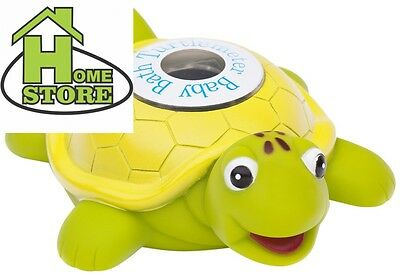 Turtlemeter, the Baby Bath Floating Turtle Toy and Tub Thermometer