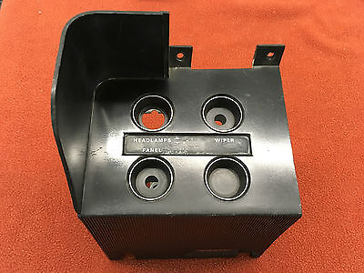 1970 Challenger Switch Control Ribbed Standard Dash Trim Bezel Panel 2947792 T/a