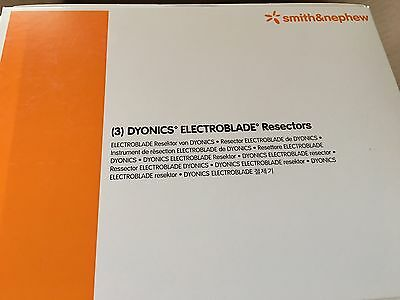 Smith + Nephew Dyonics 7205961 Electroblade Resector, 4.5mm - Box of Three (3)