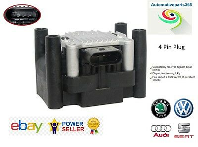 Brand New Ignition Coil Pack For VW Jetta Lupo Beetle Passat 1.0 1.2 1.4 1.6 2.0