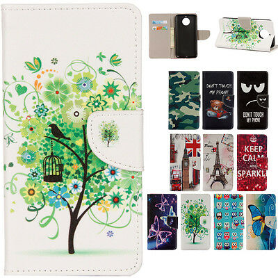 Magnetic Flip stand Card Leather wallet + TPU Case Cover For Various Phone