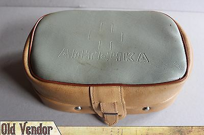 Vintage USSR Soviet First Aid Kit Medicine Chest Bag - GAZ , VAZ , MOSKVICH FULL