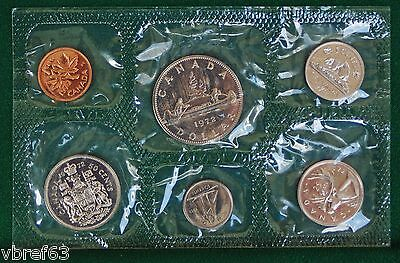 1972 Canada Prooflike PL set - 6 perfect coins in org packaging and certificate