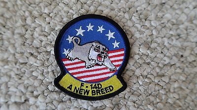 """A New Breed F-14D Navy F-14 Patch 2.5""""x2 7/8"""" Military"""