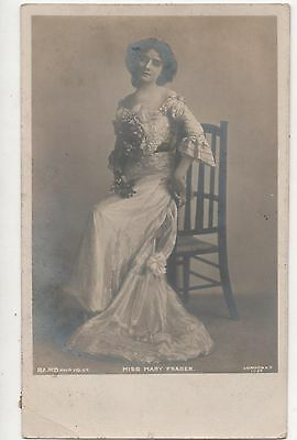 POSTCARD  ACTRESSES  Mary  Fraser