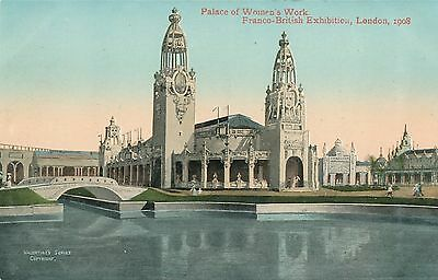 POSTCARD  EXHIBITIONS  Franco British 1908  Women's Work