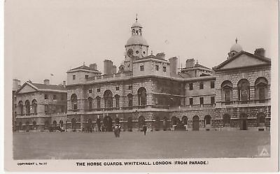 POSTCARD  LONDON  Whitehall   Horse Guards