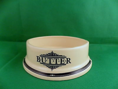 1869 Victorian Pottery Butter Dish