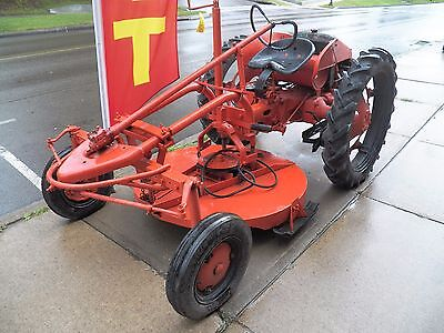 "1949 Allis-Chalmers Model ""G"" Tractor with Mowing Deck & Original Manual"