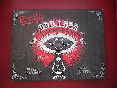 Emily The Strange ODD. I.See OuijIa Board Game Complete with Graphic Novel