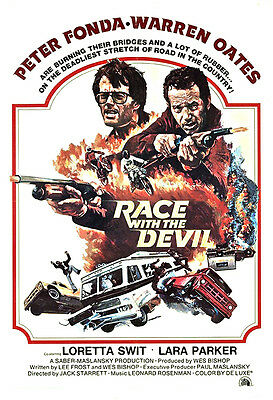 Race With The Devil Movie Poster Print - 1975 - Horror - One (1) Sheet Artwork