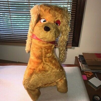 """Vintage & Collectible 1960's Cuddly Dudley, Ray Rayner & Friends 28"""" Stuffed Dog"""