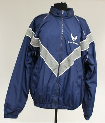 US AF Air Force PT Physical Fitness Jacket, Physical Training Jacket