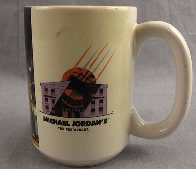Michael Jordan's The Restaurant Vintage Mug Coffee Cup Air Jordan Chicago Bulls