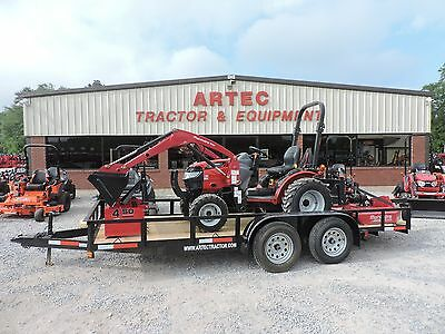 2015 Mahindra Max 26 Xl Used Tractor With Front Loader - Package Deal!!
