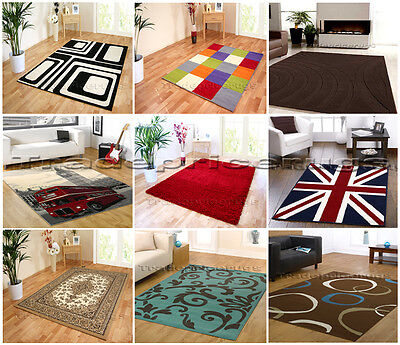 Small-Extra Large Modern & Traditional Quality Rug Sale Inc Brown Red Beige Blue