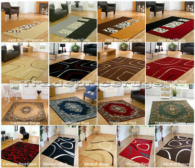 Small To Extra Large Modern And Traditional Rugs And Runners All With Free P&P