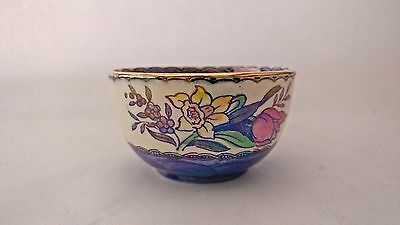 Antique Maling Pottery Lustre Ware Bowl Small Open Sugar / Nut / Mint etc. A/F