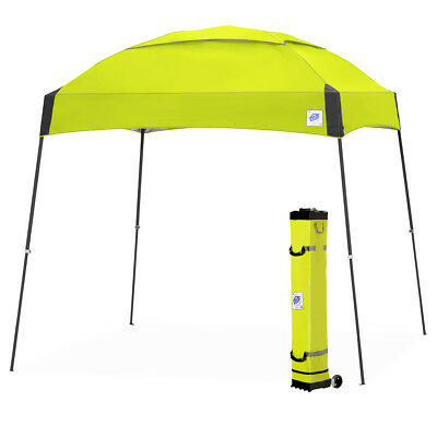 E-Z UP DM3SG10LA 10 x 10-Foot Dome Instant Shelter Canopy, Limeade/Steel Gray