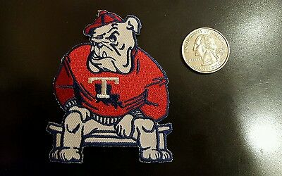 """LT Louisiana Tech Bulldogs Vintage Embroidered Iron Patch (NOS) 3.1"""" x 2.5"""" NICE"""