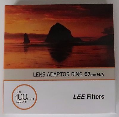 Lee filters 67mm wide adapter ring
