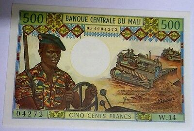 1973 Mali 500 Francs ND Banknote