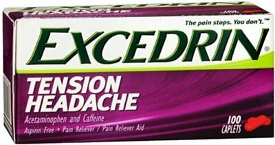 Excedrin Tension Headache Caplets (5 Packs)