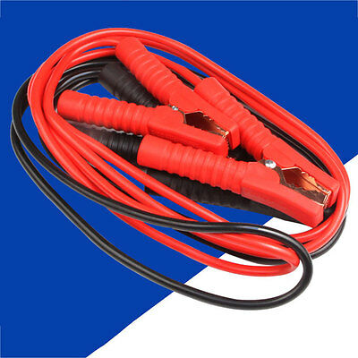Power Jumper Booster Cables Heavy Duty Gauge Truck Tractor Car Battery 600A