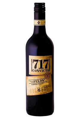Westlake 717 Convicts The Felon Barossa Valley Shiraz 2014 (12 Bottles)