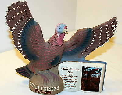 1979 Wild Turkey Bisque Porcelain Lore Limited Series II Decanter #1 MINT in Box