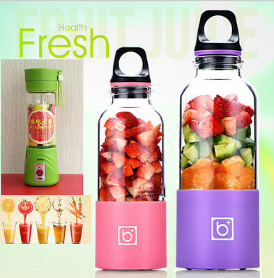 USB Electric Fruit Juicer Sports Bottle Shaker Smoothie Maker Blender Cup Mug