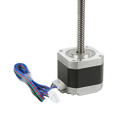 1pcs 300mm Lead 8mm Pitch Screw NEMA 17 Stepper Motor Z Axis for 3D Printer ZB3