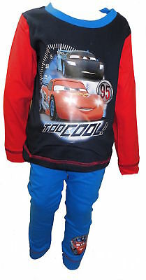 Disney Cars Lightning McQueen Boy's Pyjamas 18 Months-5 Years Available