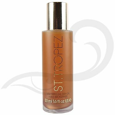 St. Tropez Self Tan Luxe Dry Oil Bronze Shimmer Fake Self Tanning Travel Size
