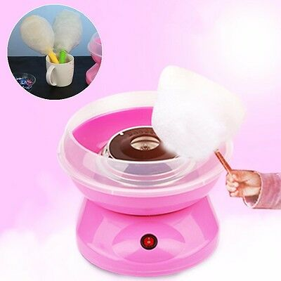Xmas Vintage Electirc Candyfloss Making Machine Cotton Sugar Candy Floss Maker