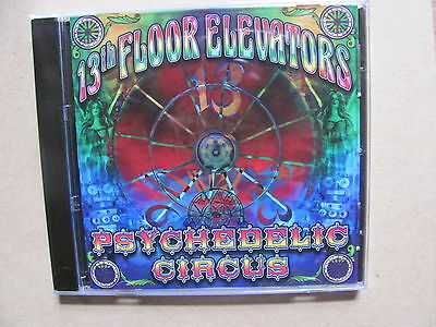 Cd circus surface tension 2003 new not sealed 1 for 13th floor elevators psychedelic circus