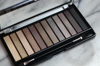 MAKEUP REVOLUTION Redemption EYESHADOW PALETTE ICONIC 2~NEUTRALS Nude Naked Dupe