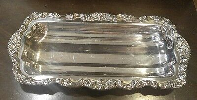 Towle Silver Plate Rectangle Serving Tray Dish Platter #6970
