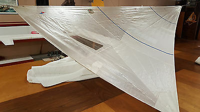 J24 155% Luff=27.5 by 15.5' Foot; 25' Leech Mylar Class Legal