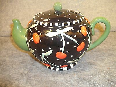 Mary Engelbreit  PorcelainTea Pot Bank