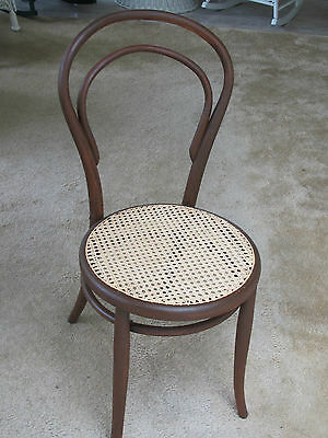 Vintage Bent Wood Ice Cream Parlor Chair