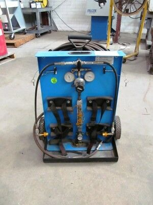 Drager 2 Capacity Air Cart with 50' Hose