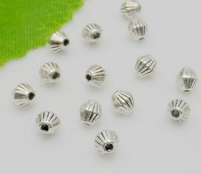 Free Ship 100Pcs Tibetan Silver Spacer Beads For Jewelry Making 4mm