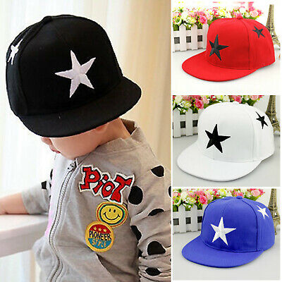 Toddler Kids Boys Girls Baseball Cap Adjustable Snapback Hip-hop Outdoor Sun Hat